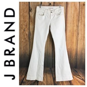 💸J Brand LoveStory fit in white size 27